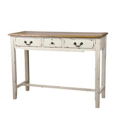コンソールテーブル 木製 アンティーク風 アンティーク風 引き出し付き