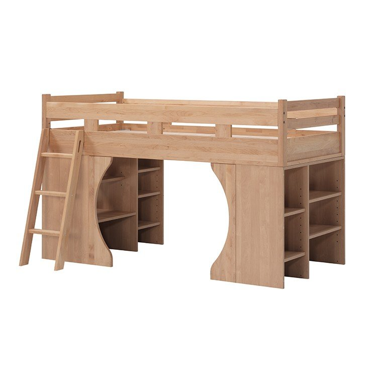 システムベッド ロフトベッド 木製 アルダー ナチュラル 国産品 日本製 堀田木工所 パーク