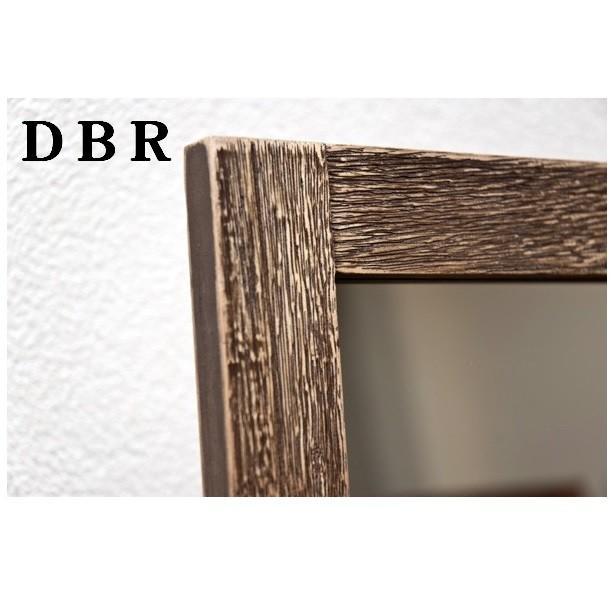 IRIS アンティークスタンドミラー ダークブラウン SH-01DBR 木の風合いのレトロ感|dreamrelifeshop2|02