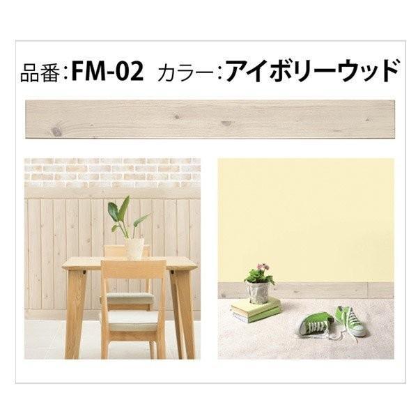 クッションシート フォームモールディング FM(100×12×1cm)24枚+10枚プレゼント/木目 立体 壁紙 板壁 腰壁 モールディング リメイクシート dreamsticker 17