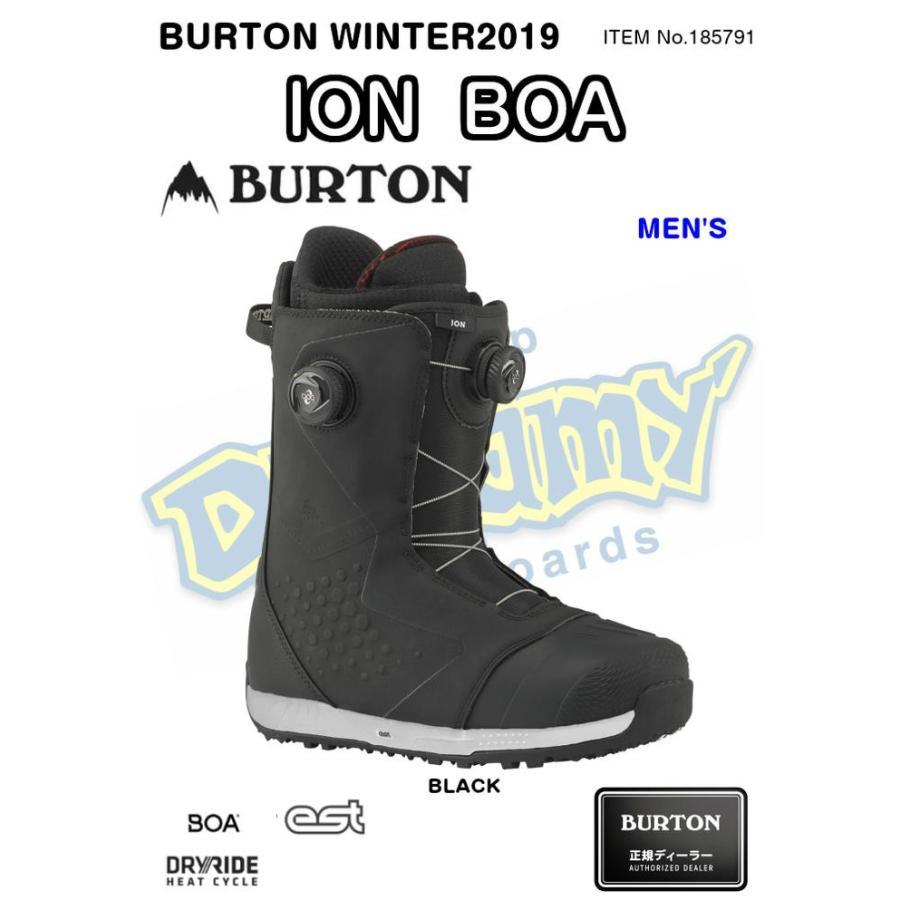 BURTON バートン ION BOA アイオン ボア DRYRIDE EST 185791 スノー ブーツ スノーボード メンズ WINTER 2019モデル 正規品