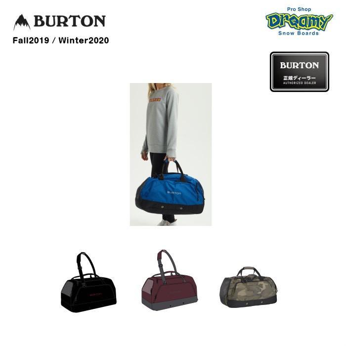 BURTON バートン Boothaus Bag 2.0 Large 110321 60L ボストンバッグ 大型メインコンパートメント ベント付きサイドポケット シューズポケット 2019-2020 正規品