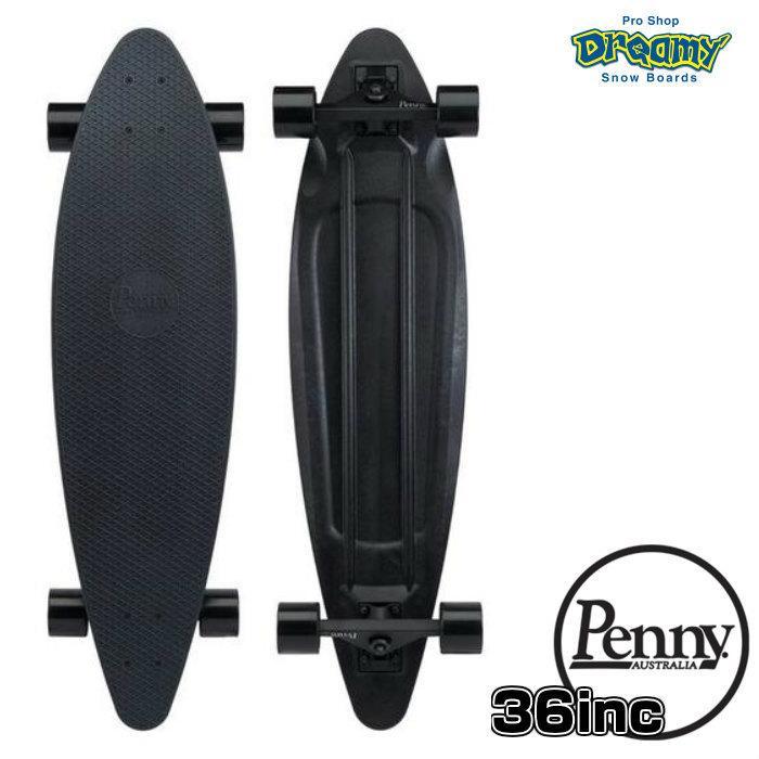 Penny ペニースケートボード LONGBOARD 2LPC3 毎日激安特売で 営業中です ロングボード 36インチ BLACKOUT Abec7 クルーザー サーフィン 贈答 特殊プラスティック 正規品 STEEL