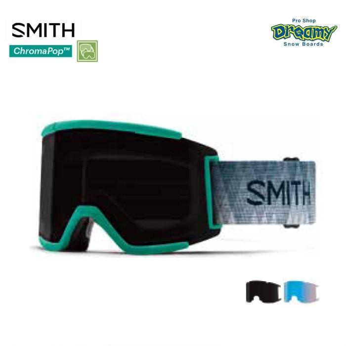 SMITH スミス スノーゴーグル Squad XL ラージサイズ クロマポップ レンズ2枚付属 平面レンズ スカッド エックスエル 010260112 19/20モデル 正規品