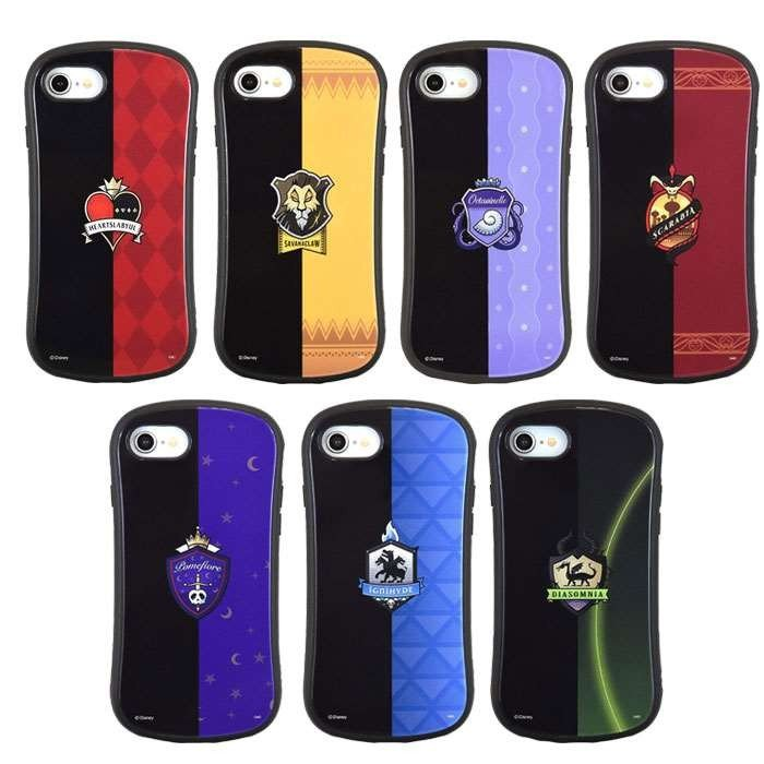 iPhone8/7/6s/6 対応 iPhone ケース カバー ツイステッドワンダーランド ハイブリッドガラスケース|dresma