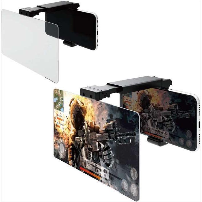 スマートフォン用 ゲーミング画面拡大レンズ 3倍 《週末限定タイムセール》 訳あり品送料無料 高透過率レンズ 4.7〜6.5インチ対応 P-GML02BK スマホゲーム エレコム