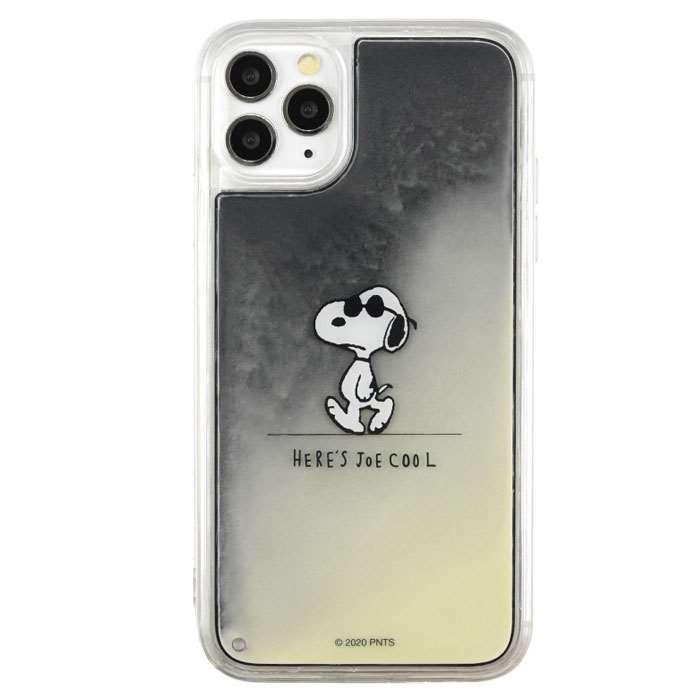 iPhone 11 Pro 対応 ケース PEANUTS ネオンサンドケース ミネラルオイル SNOOPY|dresma