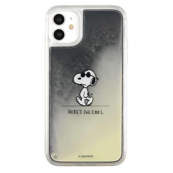 iPhone 11 iPhone XR 対応 ケース PEANUTS ネオンサンドケース ミネラルオイル|dresma