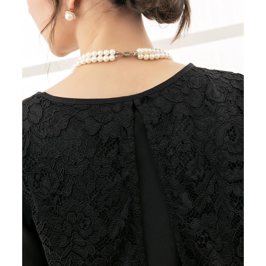 パンツドレス 結婚式 袖あり 大きいサイズ レース レディース ワイド パーティー ドレス セットアップ 卒業式 卒園式|dressstar|16