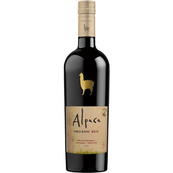 アルパカ・オーガニック・レッドのボトル