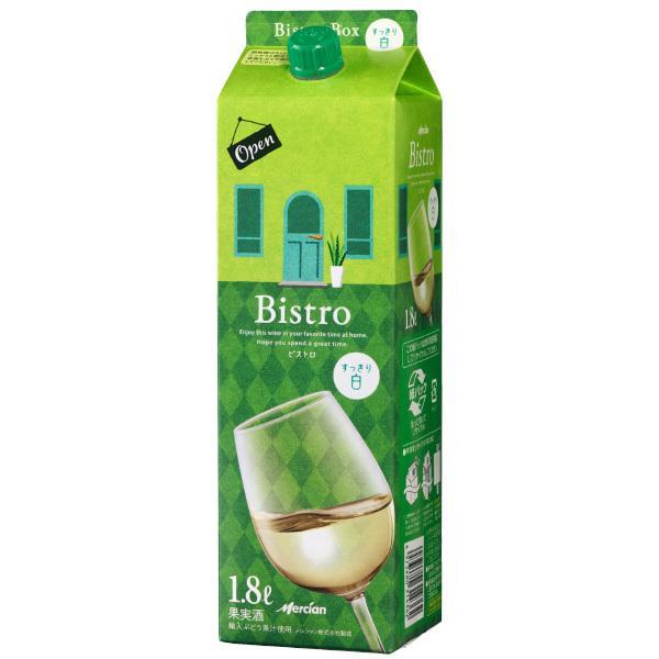 (単品) キリン メルシャン ビストロボックス 白 1.8Lパック (国産ワイン) (白ワイン) (中口) (ME)|drikin|03