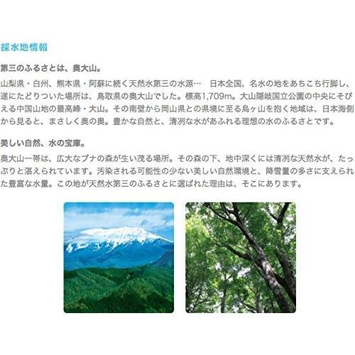 サントリー 天然水 奥大山 PET 2L×6本|drink-next|03