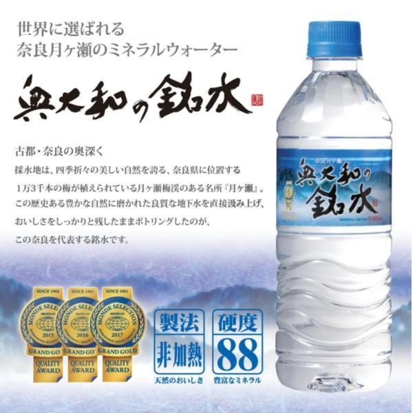 永伸商事 奥大和の銘水 PET 540m×24本|drink-next|02
