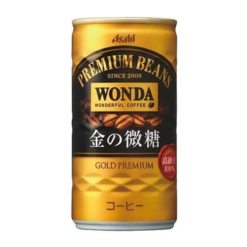 アサヒ飲料 ワンダ 金の微糖 缶 185ml×60缶 『送料無料』※北海道・沖縄・離島を除く|drinkmarchais|02