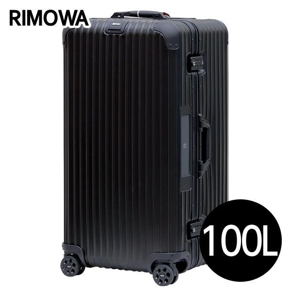 リモワ RIMOWA トパーズ ステルス 100L ブラック E-Tag TOPAS STEALTH ELECTRONIC TAG スポーツ マルチホイール スーツケース 923.80.01.5