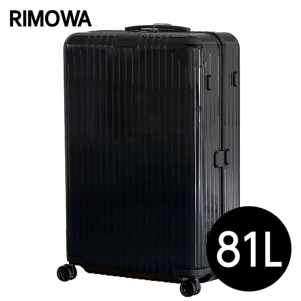 リモワ RIMOWA エッセンシャル ライト チェックインL 81L グロスブラック ESSENTIAL 823.73.62.4 『送料無料』※北海道・沖縄・離島を除く