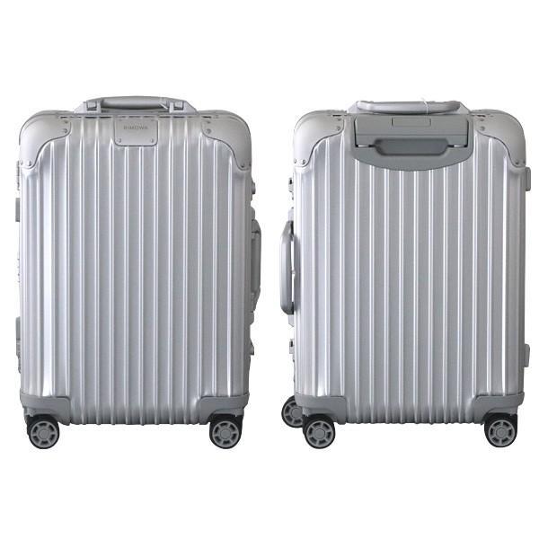 『週末限定ポイント10倍』 リモワ RIMOWA オリジナル キャビンS 31L シルバー ORIGINAL Cabin S スーツケース 925.52.00.4 drinkmarchais 02