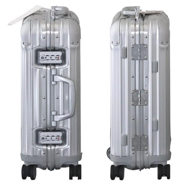 『週末限定ポイント10倍』 リモワ RIMOWA オリジナル キャビンS 31L シルバー ORIGINAL Cabin S スーツケース 925.52.00.4 drinkmarchais 03