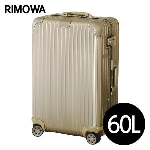 リモワ RIMOWA オリジナル チェックインM 60L チタニウム ORIGINAL Check-In M スーツケース 925.63.03.4 『送料無料』※北海道・沖縄・離島を除く