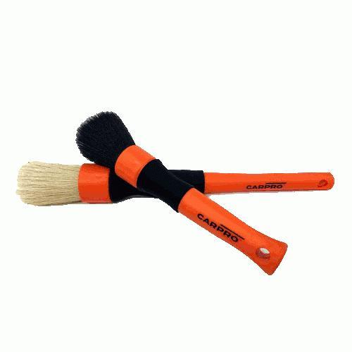 グリルなどの細かい洗浄に最適 クリーニング ブラシ ディテーリングブラシセット オレンジ2本セット 洗車用ブラシ|drive