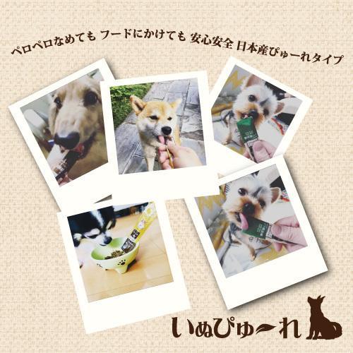 【直送便】日本産 犬用おやつ いぬぴゅーれ 無添加ピュア PureValue5 乳製品select 鶏ミルク 4本入 drjpet 05
