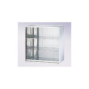 アズワン0-5223-04ステンレス収納庫引き戸(ガラス戸)900×500×900mm
