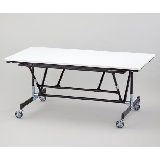 1-2625-01折り畳み作業台ストッパー付YKPO-1200