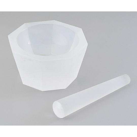 アズワン1-4221-07石英ガラス製乳鉢φ100×φ120×43乳棒付き【式】(as1-1-4221-07)