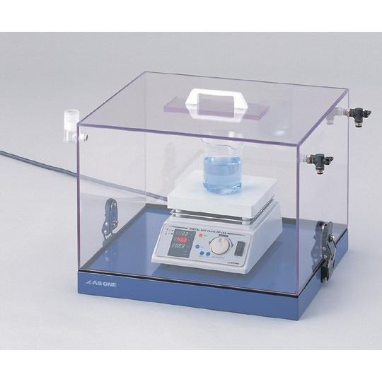 アズワン1-7567-01ガス置換ボックス450×400×345mm【個】(as1-1-7567-01)