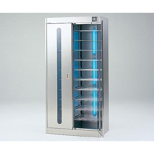 アズワン2-7978-04紫外線殺菌ロッカー(ステンレス仕様)W−02FNT棚板仕様