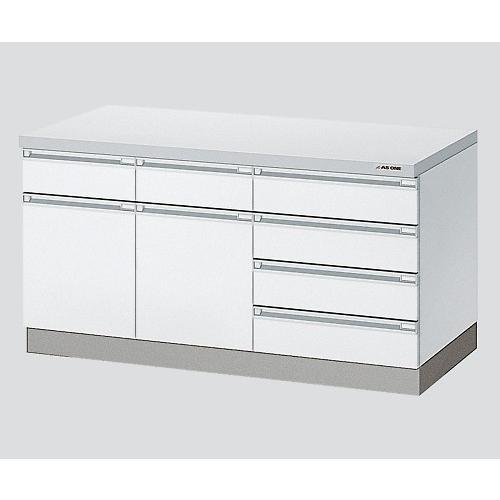 アズワン3-1282-11サイド実験台ホワイト・木製タイプ1200×750×800【個】(as1-3-1282-11)