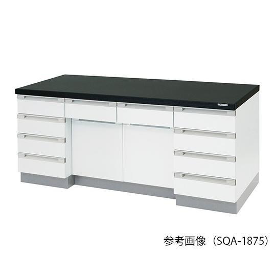 アズワン3-4186-11サイド実験台木製タイプSQA-1890(1800×900×800mm)【コ】(as1-3-4186-11)