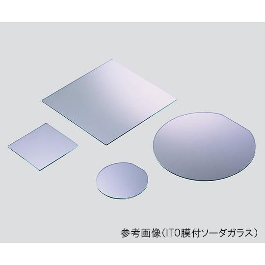 3-4999-08ダミーガラス基板ITO膜付ソーダガラスφ200mm50枚入【セット】(as1-3-4999-08)