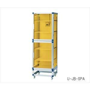 アズワン3-6754-01フロストドライデシケータJB(UVC&制電)574×611×1765強化プラスチック棚板