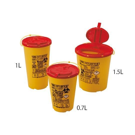 アズワン8-3161-53ディスポシャープスコンテナー1.5Lケース売り100個入【箱】(as1-8-3161-53)
