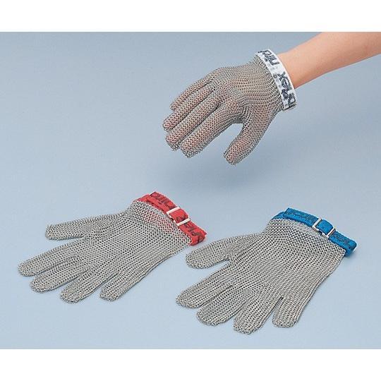 8-5323-02ステンレスメッシュ手袋5本指M【枚】(as1-8-5323-02)