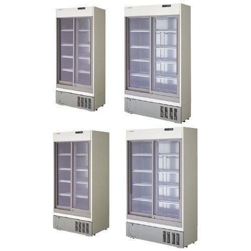 薬用冷蔵ショーケース ヤクヨウレイゾウショーケース FMS-301GU(309L)【1台単位】(20-2005-00)【1台単位】