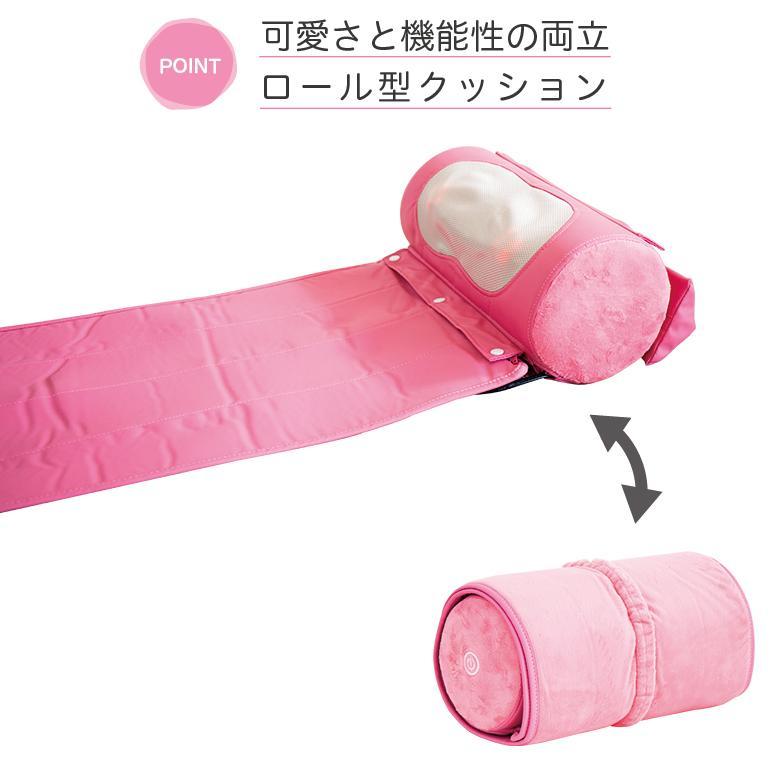 マッサージ器 枕型 腰痛 肩こり ミニマット付き マッサージ器|drsango|05