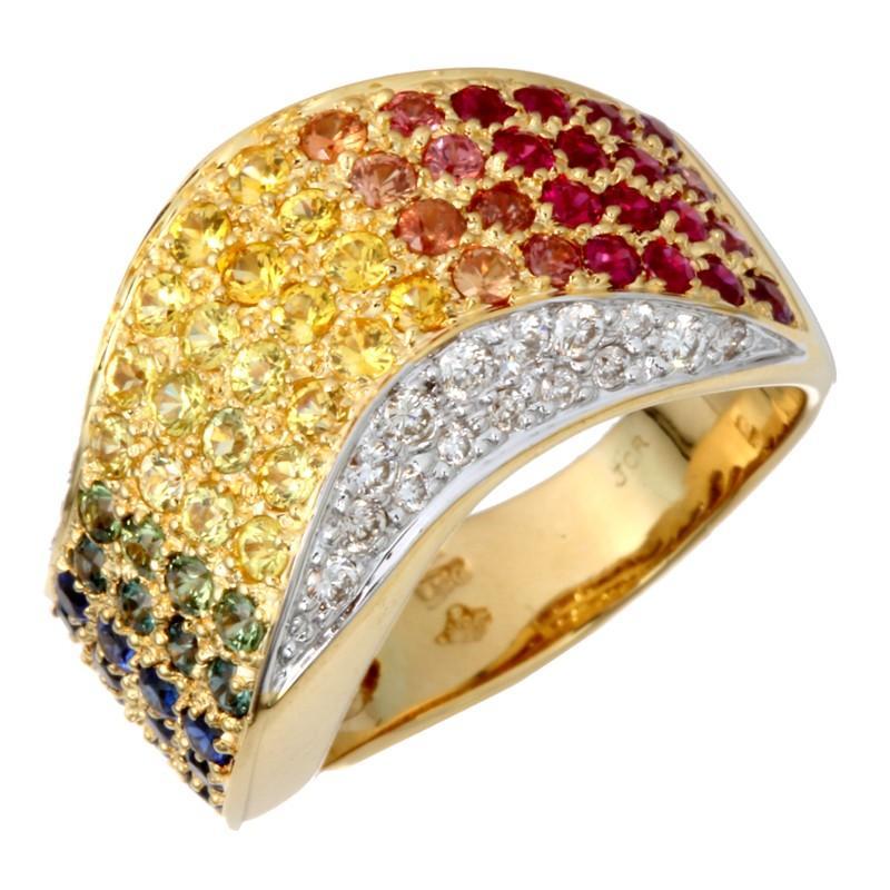 【今日の超目玉】 ノンブランド K18 マルチストーン ダイヤモンド リング・指輪 750イエローゴールド Non Brand 14号 レディース  (飯能本店)/DH54513, トミーズガレッジ 8f09d052