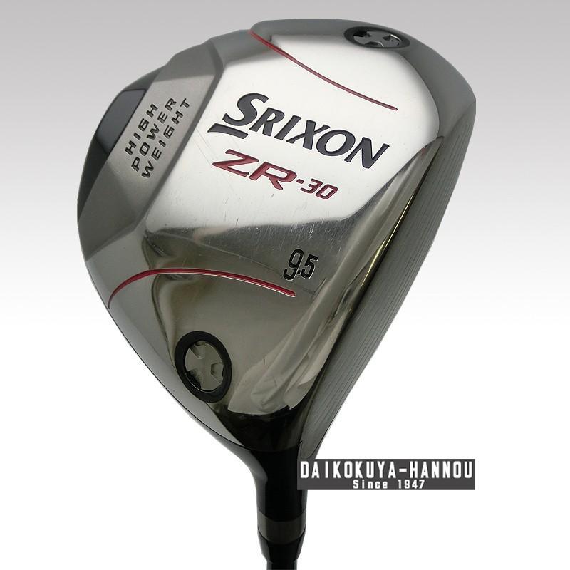 SRIXON スリクソン/2008年モデル ZR-30 ドライバー 9.5° Tour AD DI-6 (S) ツアーAD メンズ GH08256