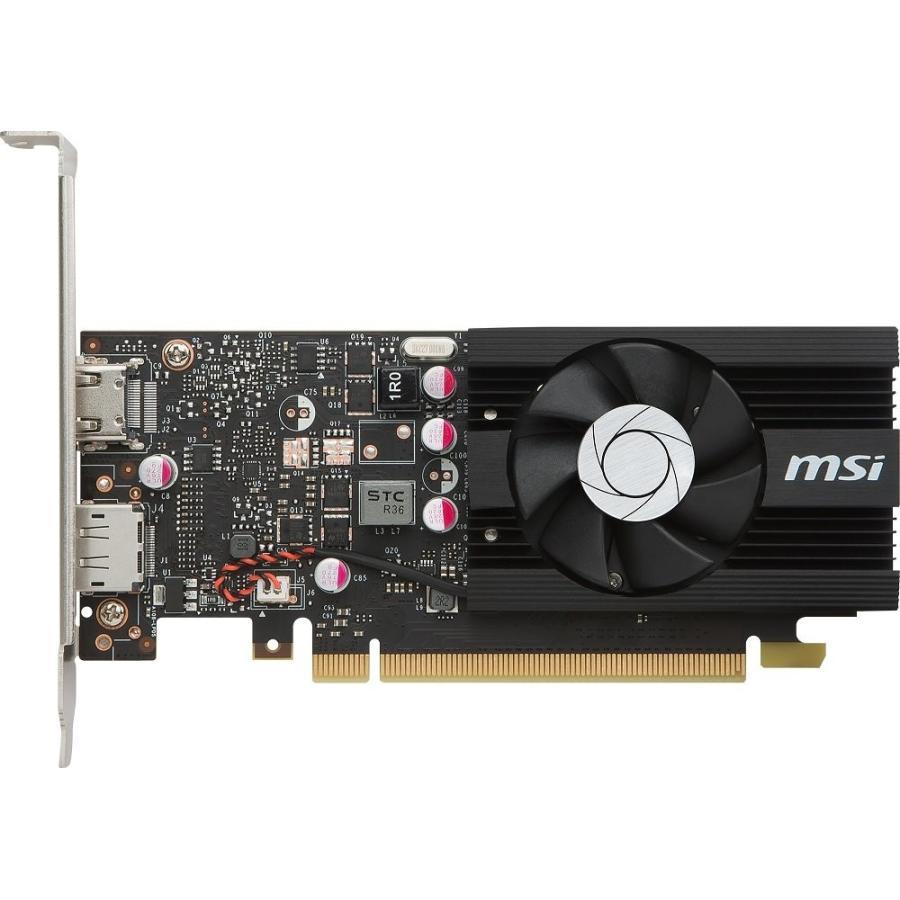 MSI GeForce GT 1030 2G LP OC グラフィックスボード VD6348|dshop-y|02