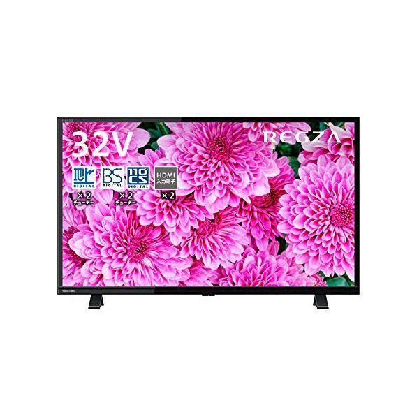 東芝 32V型 液晶テレビ レグザ 32S24 ハイビジョン 外付けHDD ウラ録対応 (2020年モデル)|dshopone-y