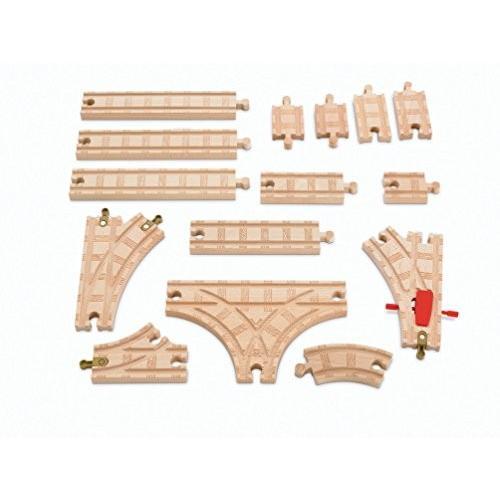 きかんしゃトーマス 木製レールシリーズ ベーシック拡張線路セット (Y4088)