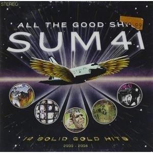 輸入盤 SUM 41 / ALL THE GOOD SH** : 14 SOLID GOLD HITS 2000-2008 [CD+DVD]