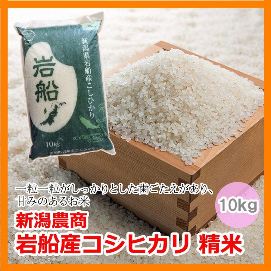 新潟 米 コシヒカリ 岩船 岩船産 新潟農商 岩船産コシヒカリ 精米 10kg