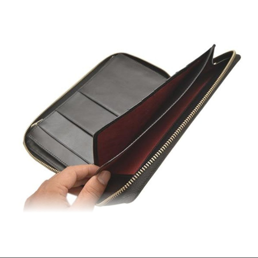 パスポートケース トラベルオーガナイザー 防犯 RFID 電磁波遮断シート おしゃれ メンズ レディース 本革  DUCT(ダクト) 097|duct-store|10