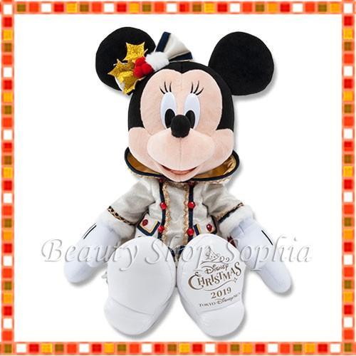 ミニーマウス ぬいぐるみ イッツクリスマスタイム! 2019 クリスマス ディズニー グッズ お土産(東京ディズニーシー限定)