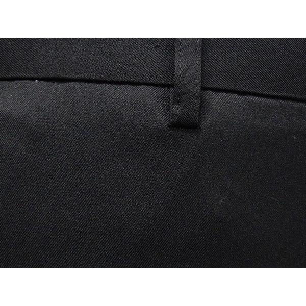 「裾上げ済」 通年 スリムノータックパンツ 3色展開中スラックス ビジネスパンツ 横ストレッチ 家庭洗濯可能 ビジネススラックス W73〜100cm OS1324|dxksm466|07
