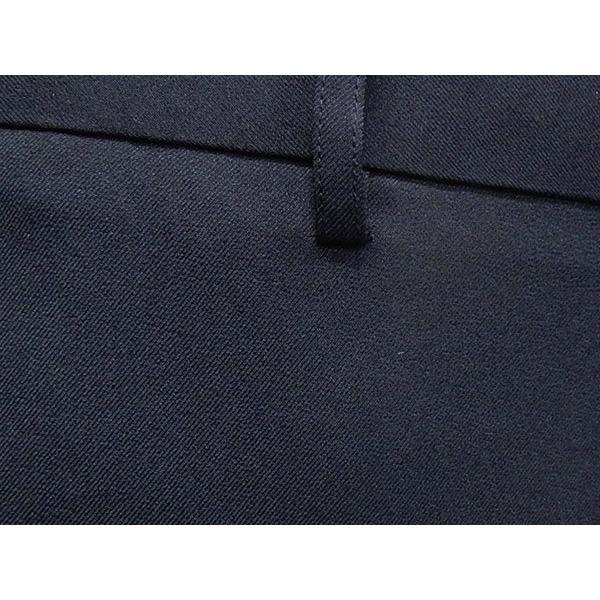 「裾上げ済」 通年 スリムノータックパンツ 3色展開中スラックス ビジネスパンツ 横ストレッチ 家庭洗濯可能 ビジネススラックス W73〜100cm OS1324|dxksm466|08