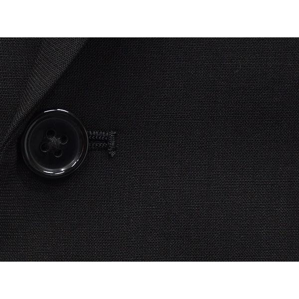 礼服 ダブル 夏物 深黒 ベーシックフォーマルスーツ 6釦1掛 1タック [A体][AB体][BB体] メーカー廃番予定品 PN2277 dxksm466 04